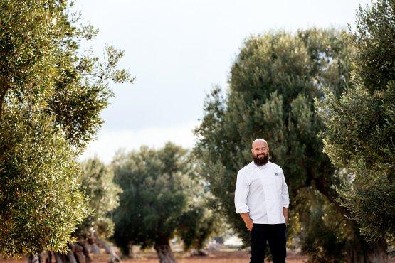 Domenico Schingaro, chef del ristorante Due Camini