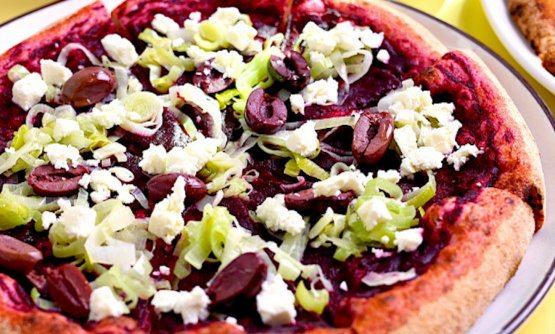 La Pizza viola dei fratelli Aloe di Berberè
