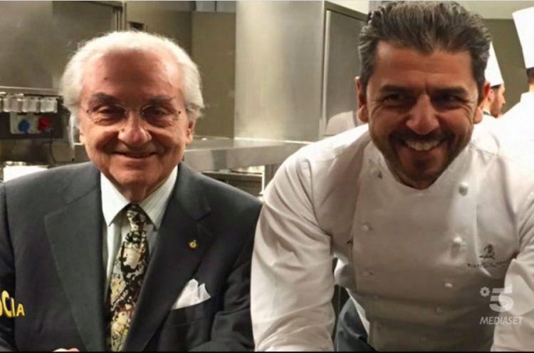 Il maestro e l'allievo: Gualtiero Marchesi e Andrea Berton