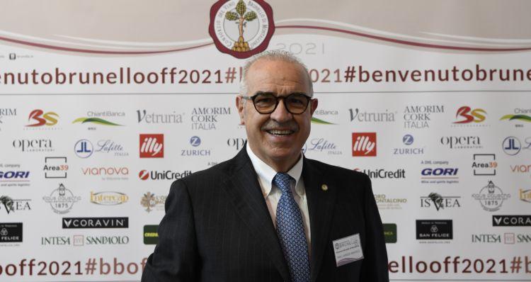 Il presidente del Consorzio, Fabrizio Bindocci