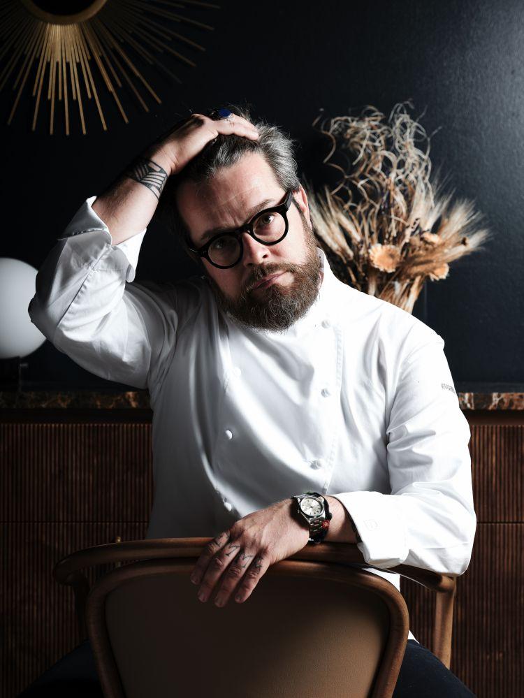 Eugenio Boer, chef del ristorante Bu:r