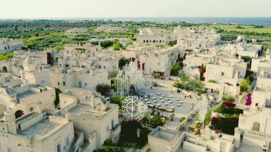 Borgo Egnazia dall'alto