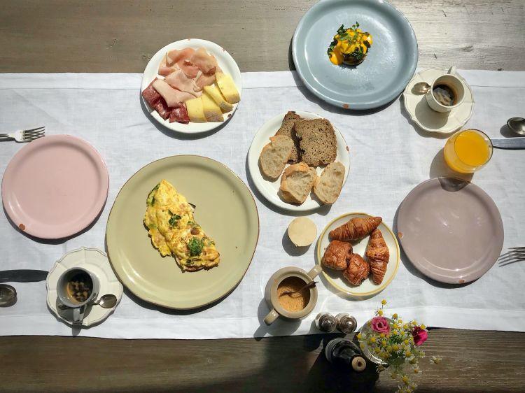 Al Borgo Santo Pietro abbiamo anche gustato una colazione deliziosa (foto Tanio Liotta)