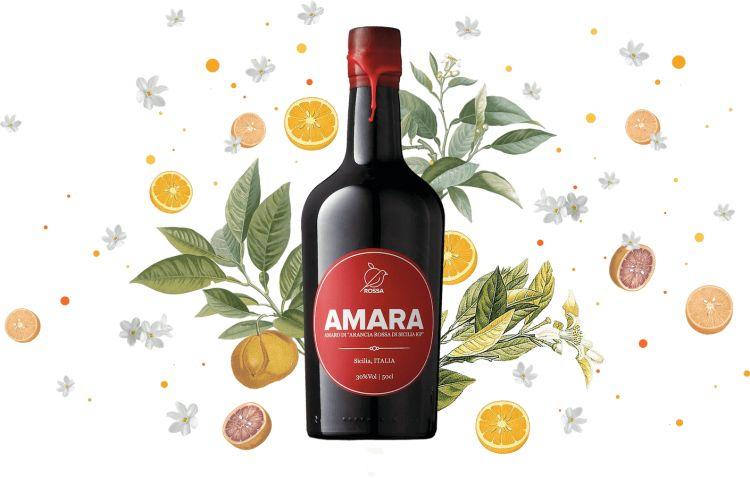 Le arance rosse di Sicilia sono l'ingrediente chiave dell'Amaro Amara