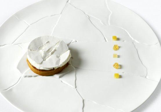 The dish inspired by Igles Corelli's Budino di Cipolla- 1983. Photo Paolo Terzi