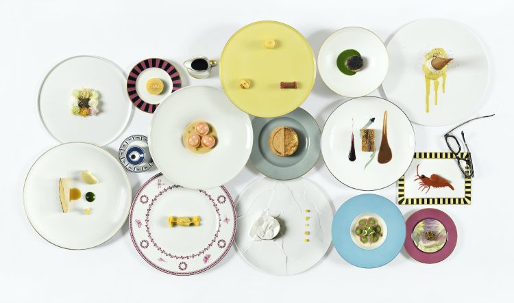 The dishes from the new menu. Photo Paolo Terzi
