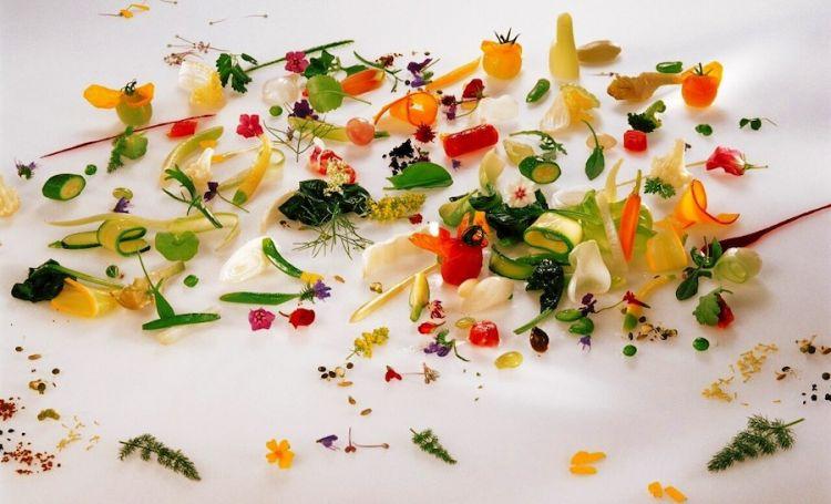Gargouillou de Jeunes légumes, capolavoro veg di Michel Bras
