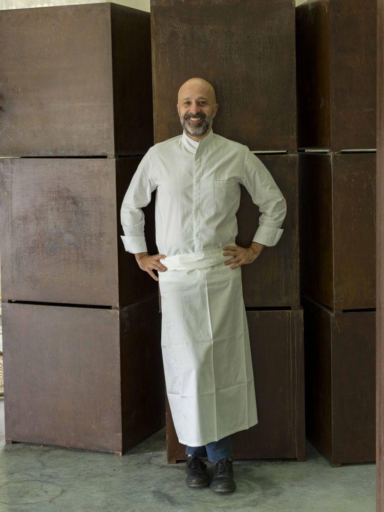 Niko Romito, chef del Reale Casadonna
