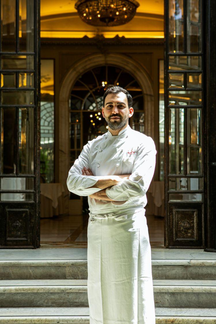 Domenico Stile, chef dell'Enoteca La Torre