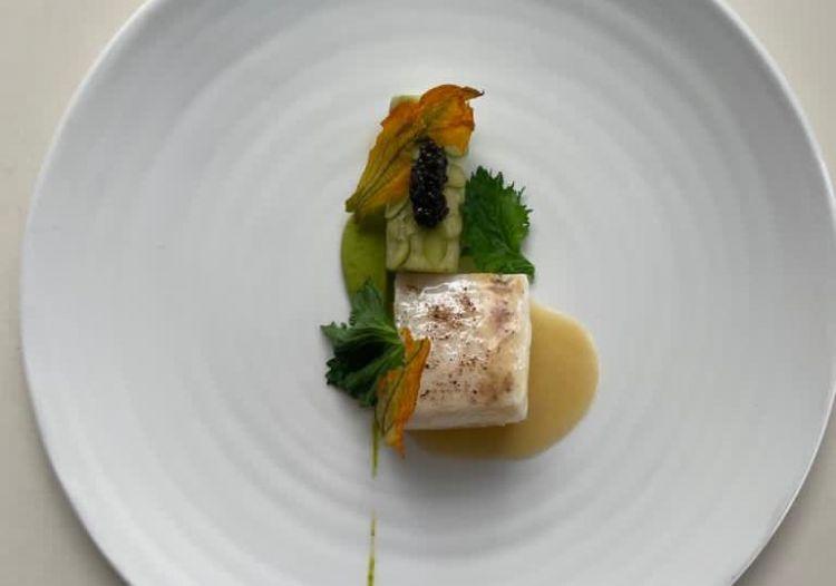Filetto di black cod al lime nero
