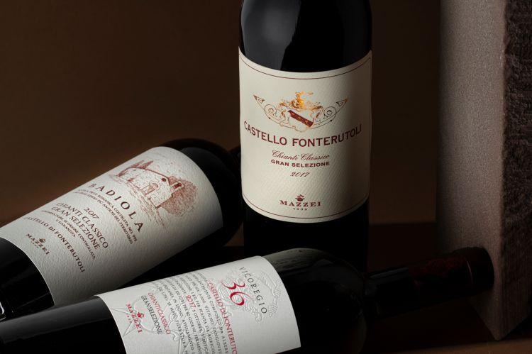La prima annata dei tre vini insieme è stata la 2017
