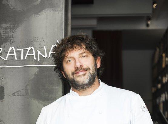 Cesare Battisti, chef del ristorante Ratanà
