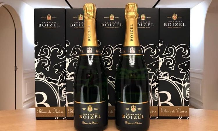 The Blanc de Noirs from Boizel