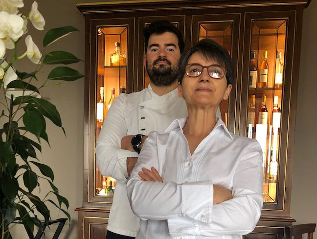 Gli chefElide Mollo con Joan Marc Espadas