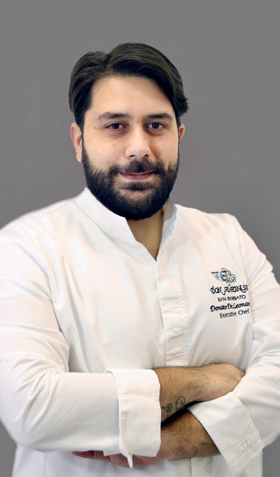 Lo chef Donato De Leonardis