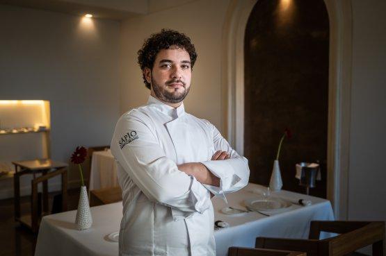 Lo chef Alessandro Ingiulla