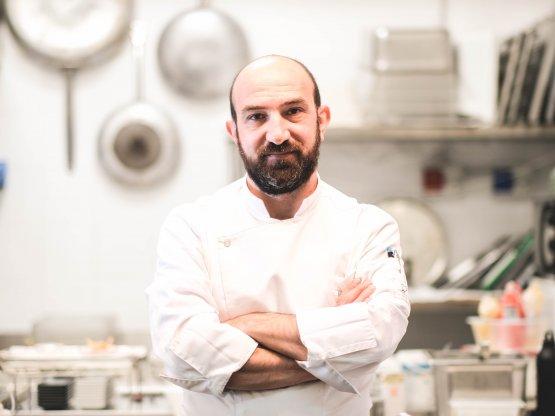Francesco D'Angelo, chef di Essenza Cucina di Mare