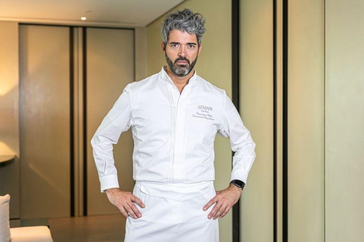 Francesco Mascheroni, chef del ristorante Armani