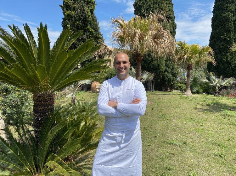 Lo chef del ristorante Il Mirto del Botania Relais & Spa, Tommaso Luongo