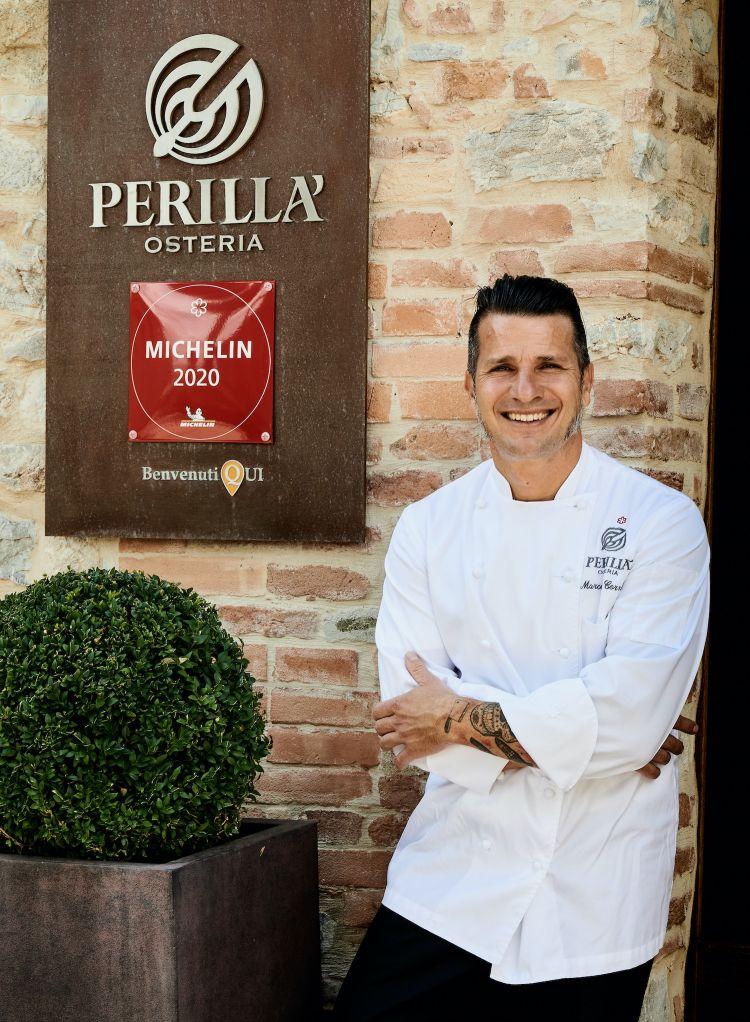 Marcello Corrado all'Osteria Perillà