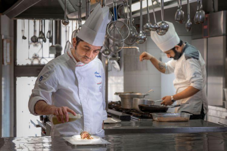 Marco Cappelletti, chef del Marchese del Grillo