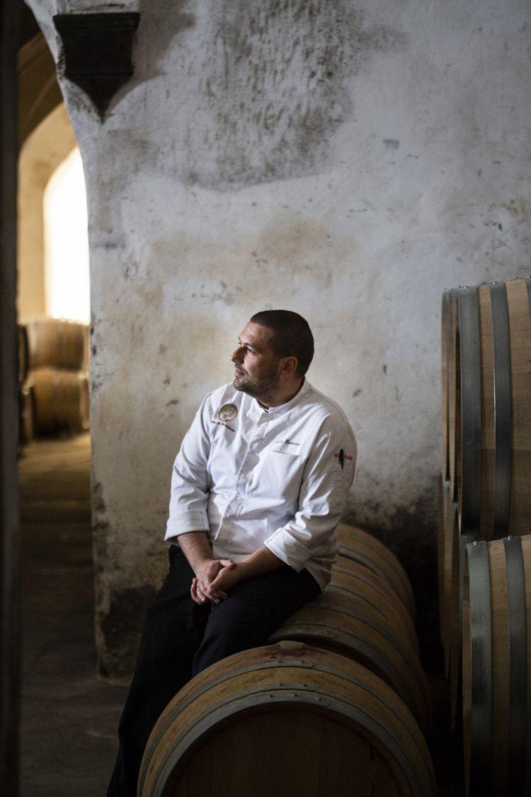 Lo chef Nicola Damiani