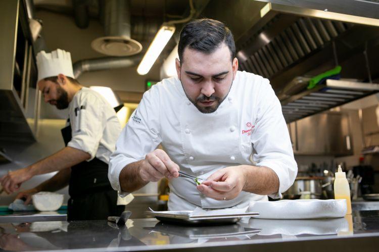 Domenico Stile, chef di Enoteca La Torre a Villa Laetitia