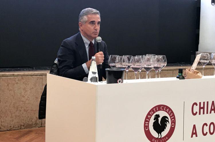 Il presidente del Consorzio del Chianti Classico Giovanni Manetti