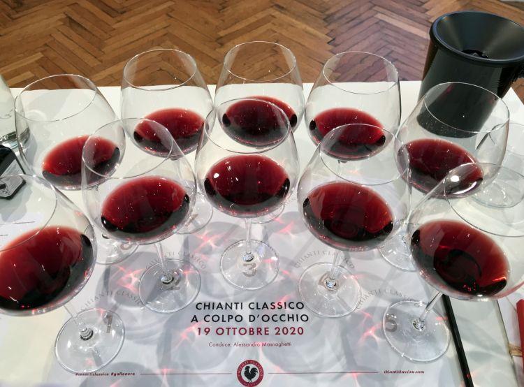 I 10 vini in degustazione