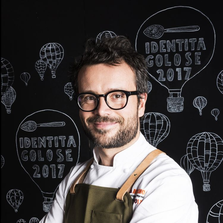 Christian Puglisi, Relae di Copenaghen (Danimarca), è il Miglior Chef Straniero 2020. Premiato da Michele Cannone Direttore Marketing Food Service Global Lavazza