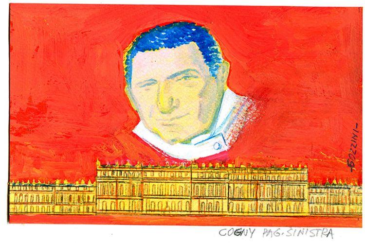 Illustrazioni di Georges Cogny e del legame che stabiliì tra Francia e Italia