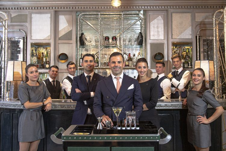 Il team del Connaught Bar