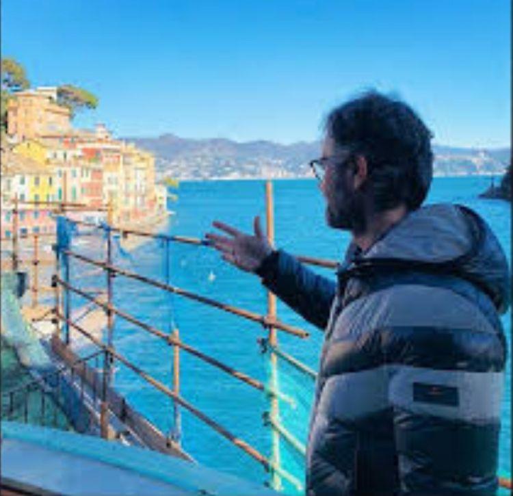 Carlo Cracco e il cantiere del Pitosforo a Portofino