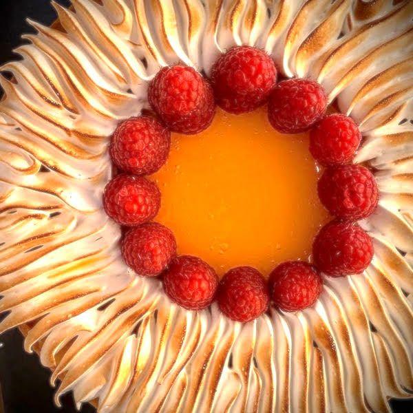 Crostata al limone in versione estiva con gelatina alla verbena