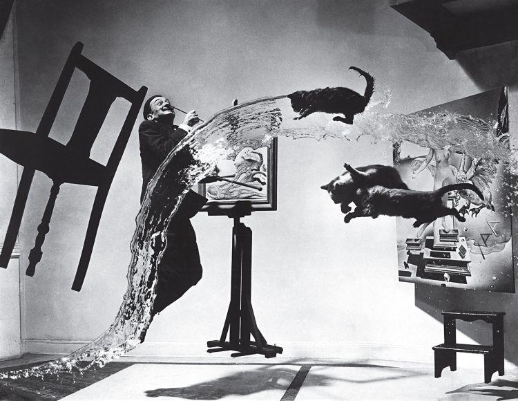 Dalì Atomicus di Philippe Halsman, del 1948