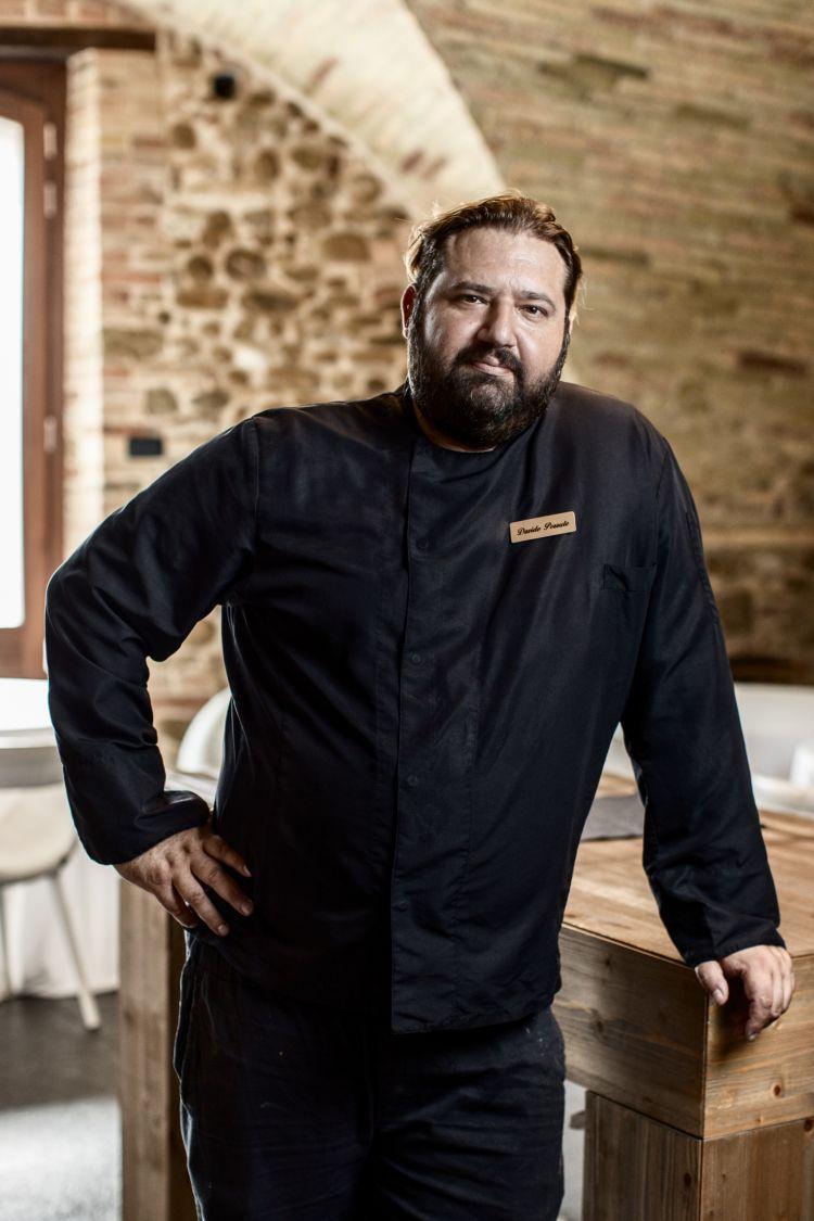 Lo chef Davide Pezzuto (phWilson Santinelli fotografo - Italian Gourmet)
