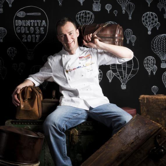 Lo chef Luca De Santi