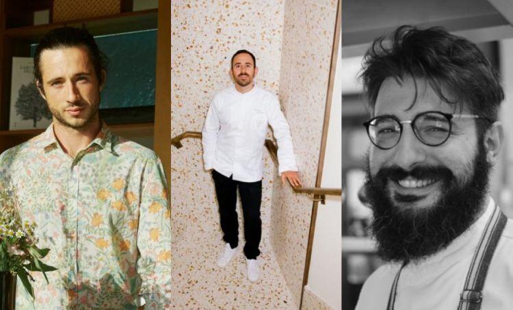 Stefano Bizzarri, Davide Di Fabio e Jacopo Malpeli