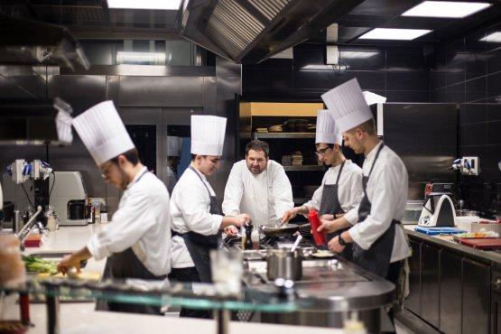 La brigata di cucina