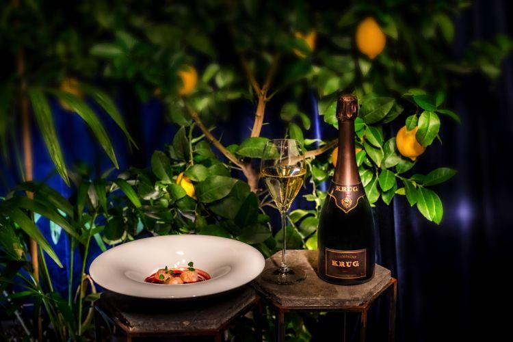 I piatti dello chef AntoninoCannavacciuolo, storico ambasciatore italiano di Krug sono stati il perfetto abbinamento con i Millesimi 2008