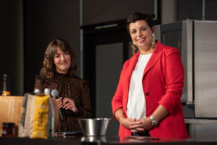 Ilaria Puddu fondatrice di molti format di successo tra cui Giolina dialoga con Francesca Romana Barberini