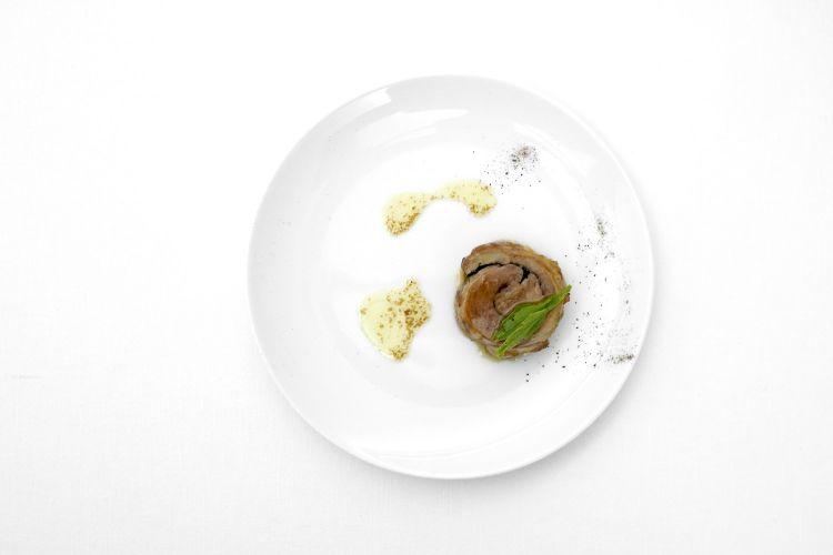 Porchetta di pancia di agnello laticauda. Deliziosa