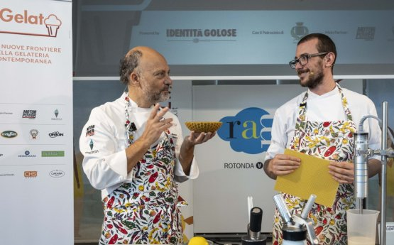 Moreno Cedroni e Luca Abbadir