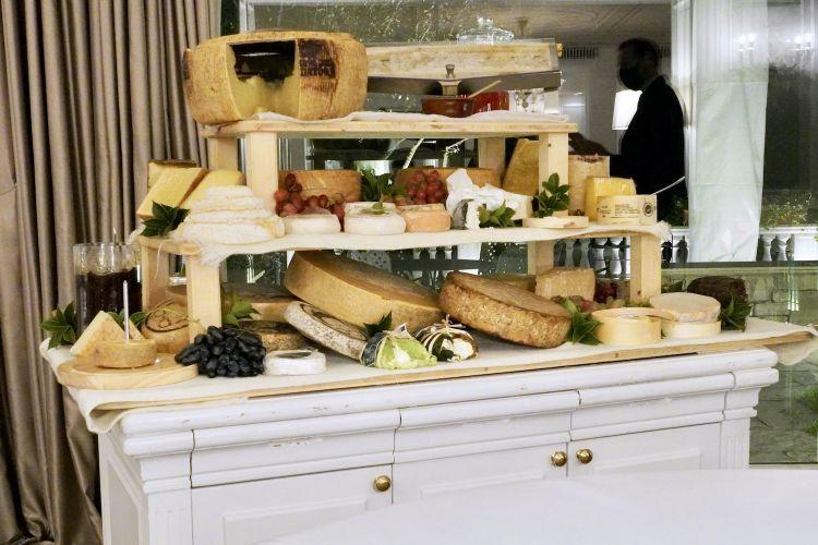 Il carrello dei formaggi