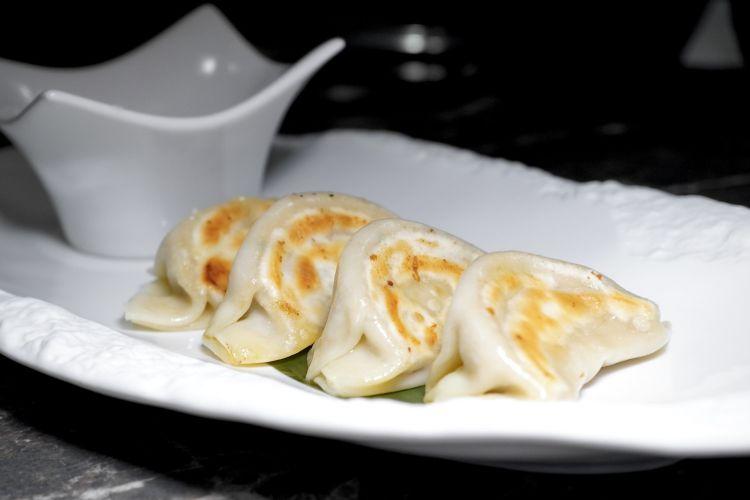 Gyoza con ragù bianco di manzo