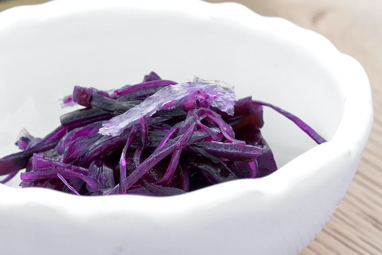 Beetroot and red seaweeds