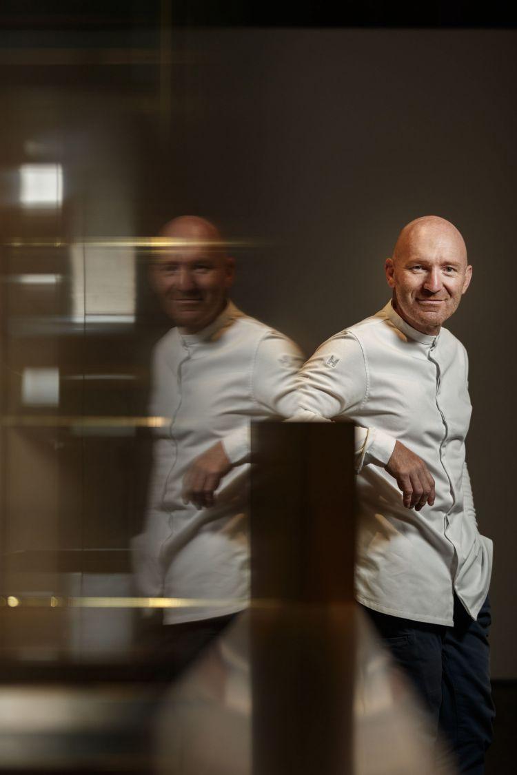 Lo chef Alfio Ghezzi