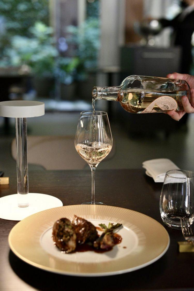 In abbinamento ai vini rosati Pasqua, la cucina di Edoardo Traverso, resident chef del ristorante Identità Golose Milano