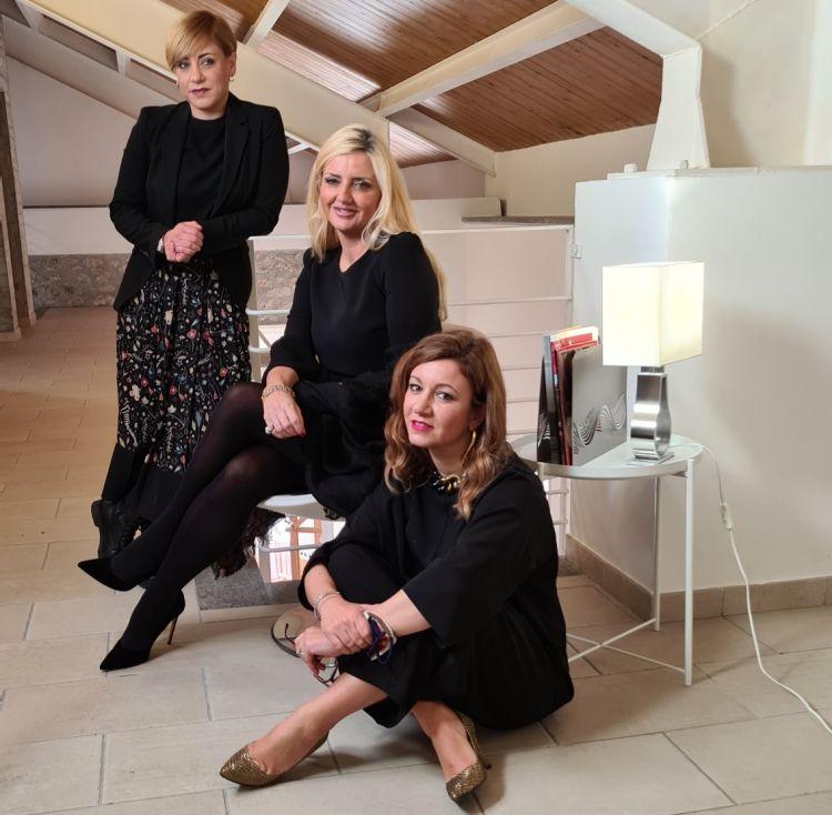 Marta, Enrica e Dominga Cotarella