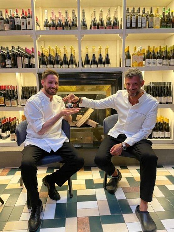 Federico Della Vecchia e Antonio Lucatelli, chef di Bioesserì